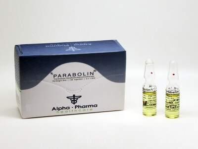 Parabolin Trenbolone 5x ampule (76.5mg/ 1.5ml)