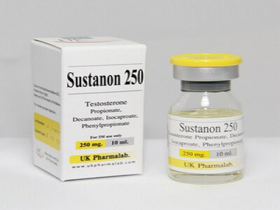 Sustanon (4 testosterone blend) 250mg/ml injection