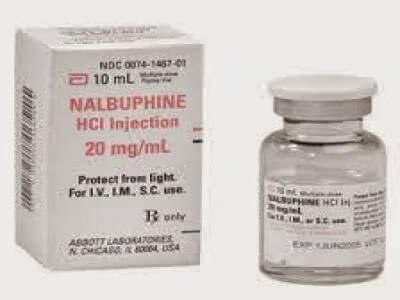 nubain (nalbuphine hydrochloride)
