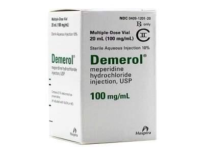Demerol (Meperidine HCL) 100mg