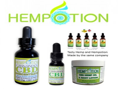CBD Oil Hempotion